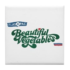 Beautiful Vegetables Tile Coaster