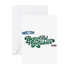 Beautiful Vegetables Greeting Card