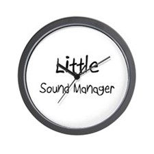 Little Sound Manager Wall Clock