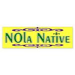 New Orleans Native Bumper Sticker (10 pk)