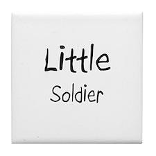 Little Soldier Tile Coaster
