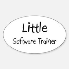 Little Software Trainer Oval Decal