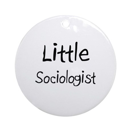 Little Sociologist Ornament (Round)