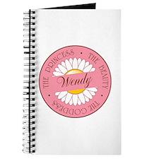 Wendy Princess Beauty Goddess Journal