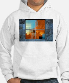 Abstract in a Window Hoodie