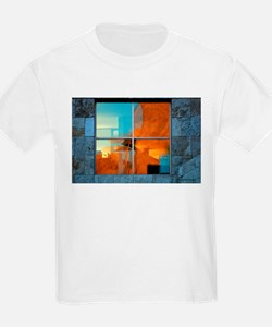 Abstract in a Window T-Shirt