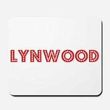 Retro Lynwood (Red) Mousepad