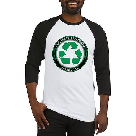 Going Green Nashville Recycle Baseball Jersey