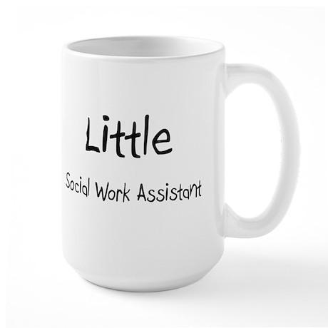 Little Social Work Assistant Large Mug