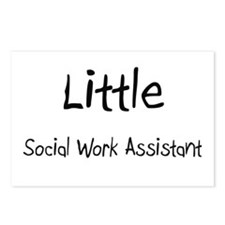 Little Social Work Assistant Postcards (Package of