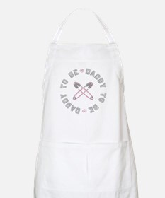 Daddy to Be Pink Girl BBQ Apron