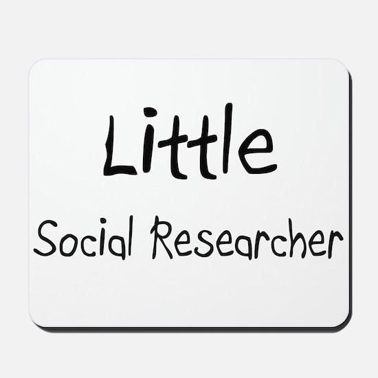 Little Social Researcher Mousepad