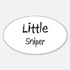 Little Sniper Oval Decal