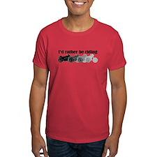 I'd Rather be riding my motor T-Shirt