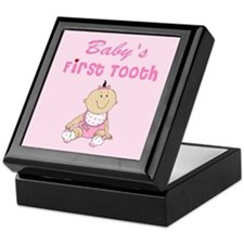 Baby's first tooth Keepsake Box