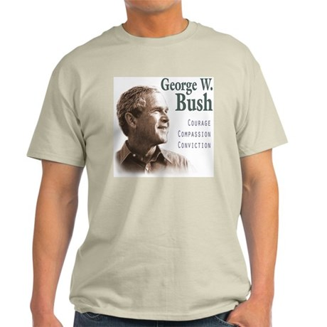 George Bush Ash Grey T-Shirt