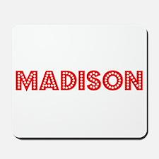 Retro Madison (Red) Mousepad
