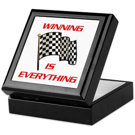 WINNING Keepsake Box