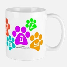 Colorful paws Canhardly Mug