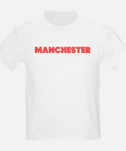 Retro Manchester (Red) T-Shirt