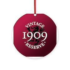 Vintage Reserve 1909 Ornament (Round)