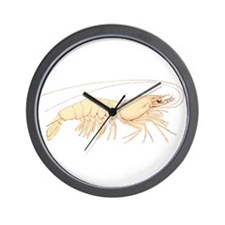 Shrimp Wall Clock