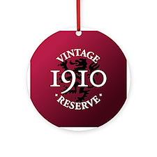 Vintage Reserve 1910 Ornament (Round)