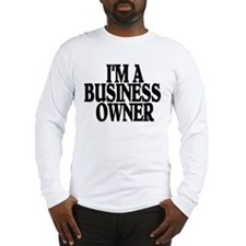 SUPPORT LOCAL BUSINESSES Long Sleeve T-Shirt