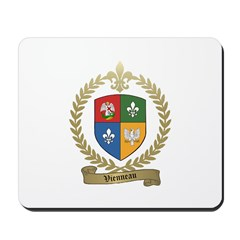 VIENNEAU Family Crest Mousepad