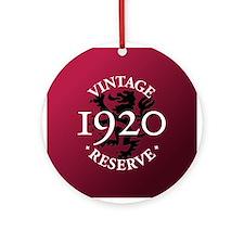 Vintage Reserve 1920 Ornament (Round)