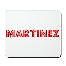 Retro Martinez (Red) Mousepad