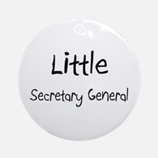 Little Secretary General Ornament (Round)