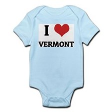 I Love Vermont Infant Creeper