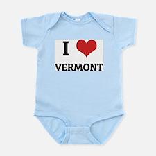 I Love Vermont Infant Creeper