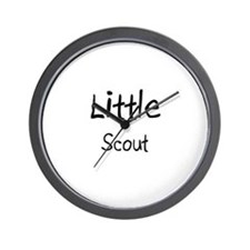 Little Scout Wall Clock