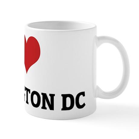 I Love Washington D.C. Mug