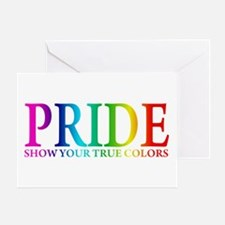 TRUE COLORS Greeting Card