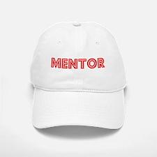 Retro Mentor (Red) Baseball Baseball Cap
