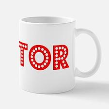 Retro Mentor (Red) Mug