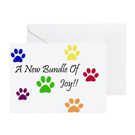 New Puppy Greeting Cards (Pk of 10)