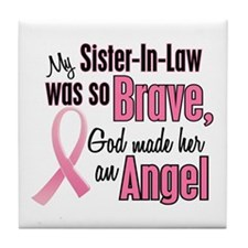 Angel 1 (Sister-In-Law) Tile Coaster