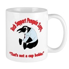 Tech Support Penguin - Cup Ho Mug