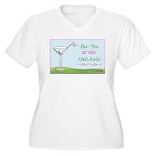 19th hole par-tee t-shirt - Women's Plus Size Tee