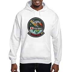 Patriot Missile Hooded Sweatshirt