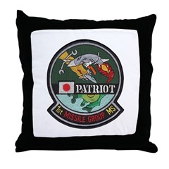 Patriot Missile Throw Pillow