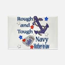 Anchor Sailor Mother-in-law Rectangle Magnet