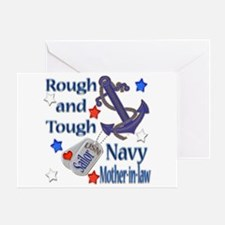 Anchor Sailor Mother-in-law Greeting Card