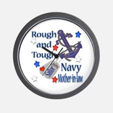 Anchor Sailor Mother-in-law Wall Clock