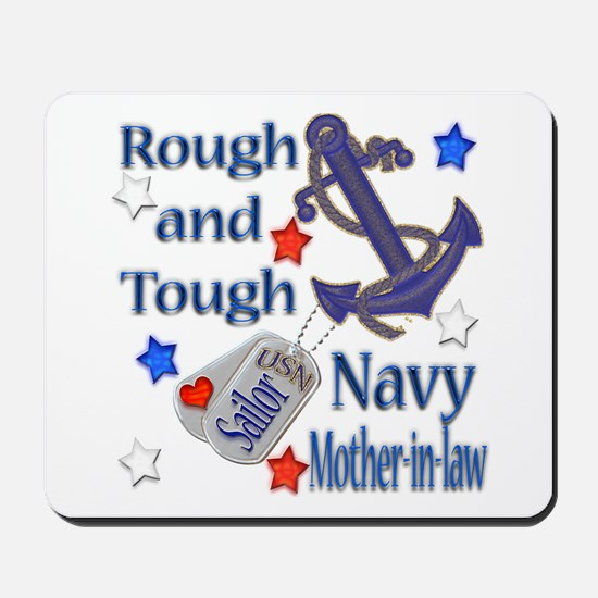 Anchor Sailor Mother-in-law Mousepad