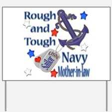 Anchor Sailor Mother-in-law Yard Sign